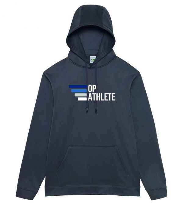 Charcoal Hoodie performance sports